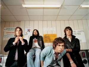 Kings of Leon are performing at T in the Park 09