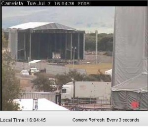 live t in the park music festival webcam