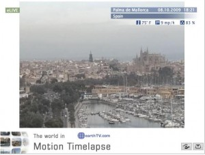 Live Palma webcam on the island of Majorca