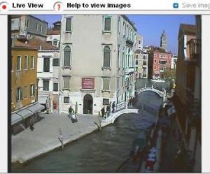 Live Venice canal webcam